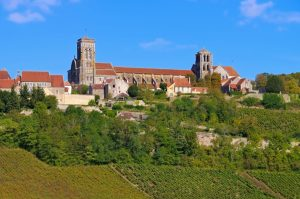 Vezelay cathedral France tour Bill Cook