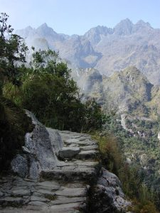 trail Hike Inka Peru tour