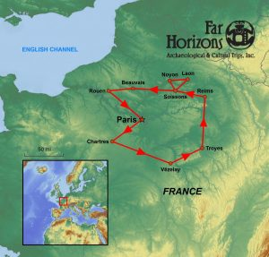 Cathedrals of France tour