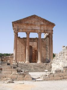 Dougga Capitolium archaeology tour Tunisia tour