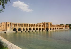Isfahan Khaju Bridge Iran tour
