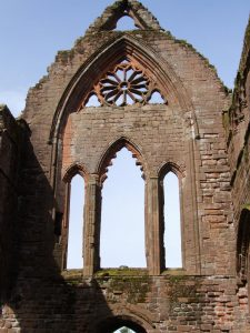Sweetheart Abbey archaeology tour Scotland journey