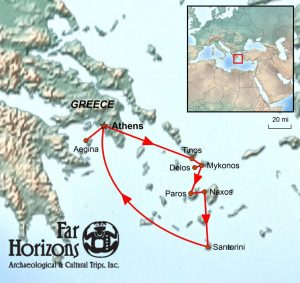 Greek islands tour archaeology history