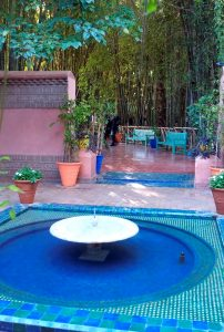 Jardin Marjorelle Marrakesh tour Spain tour Moors