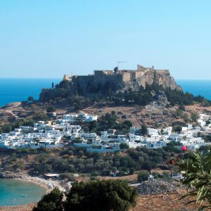 Lindos Acropolis Rhodes Greece tour archaeology history