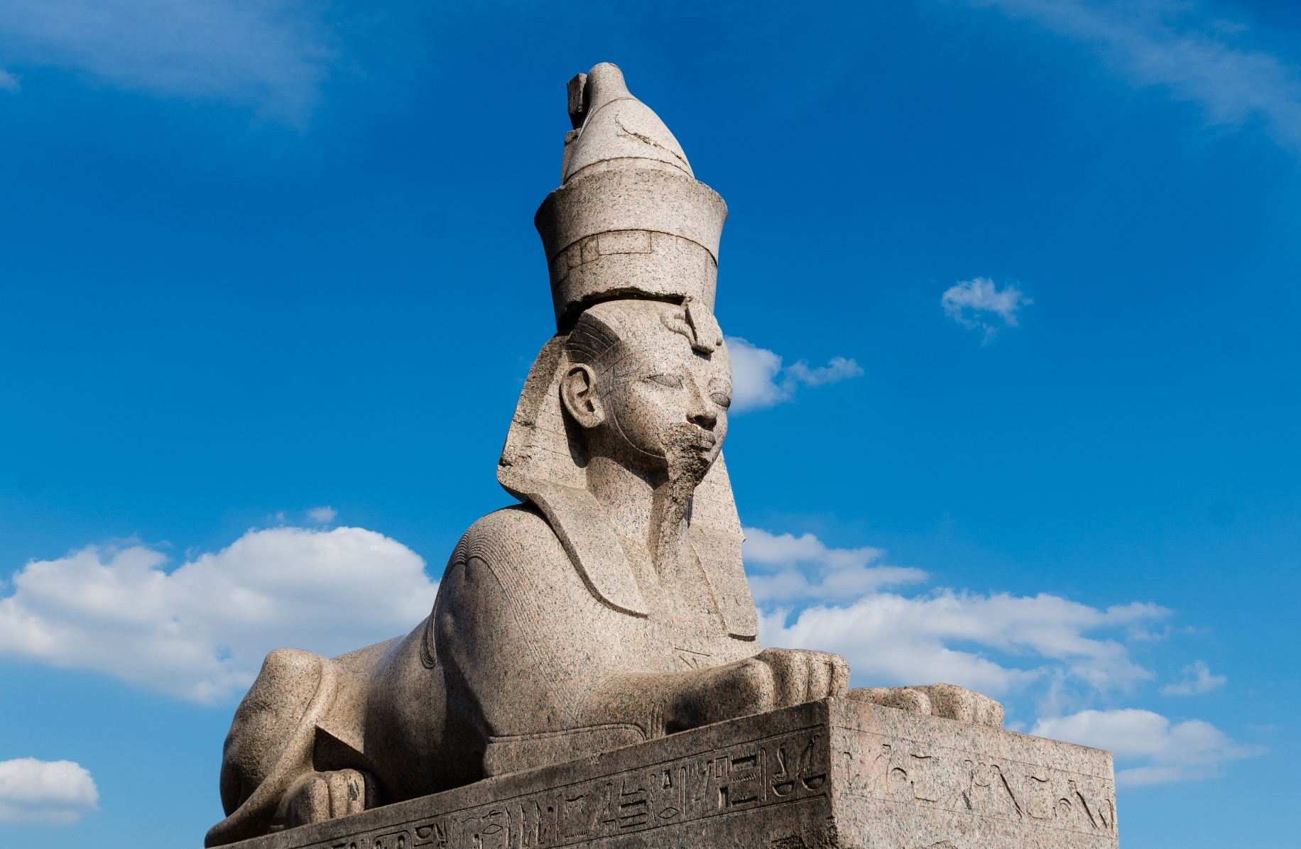 Sphinx St. Petersburg Russia archaeology tour