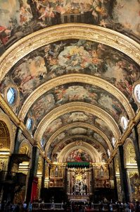 St John's Co Cathedral Malta tour educational history archaeology
