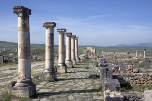 Volubilis Morocco tour Spain tour Moors