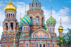 Church of spilled blood Russia tour archaeology tour