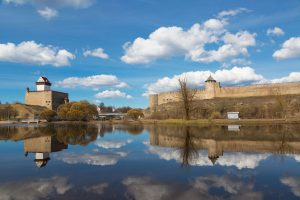 Narva Herman castle  crusades tour Baltics