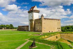 Narva Castle Baltics tour Crusader Knights