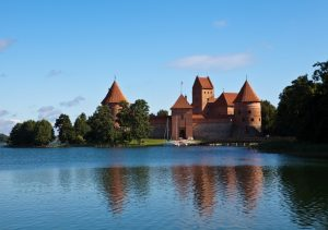 Trakai Castle Baltics tour Crusader Knights