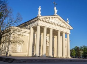 Vilnius Cathedral Lithuania tour Baltics crusades history