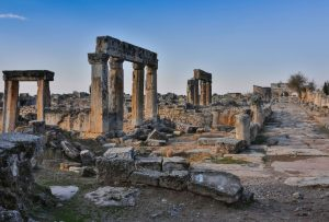 Corinth Greece educational tour Steven Tuck