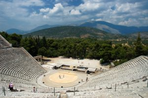 Epidaurus Theatre Greece tour educational tour