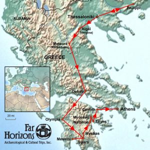 Archaeology of Greece tour