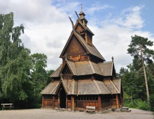 Gol stave church Oslo Norway Viking tour archaeology tour
