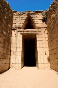 Mycenae treasury of Atreus Greece tour archaeology