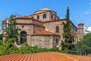 Hagia Sophia Thessaloniki Greece archaeology tour
