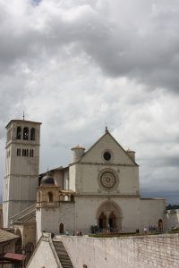 Basilica San Francesco d'Assisi vertical Far Horizons Italy cathedrals tour