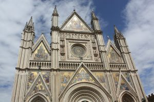 Orvieto Cathedral Facade - Far Horizons Tour