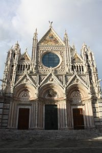 Siena Cathedral Facade - Far Horizons Tour