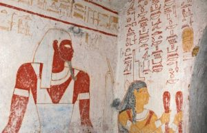 El Kurru tomb painting Far Horizons Sudan archaeology tour
