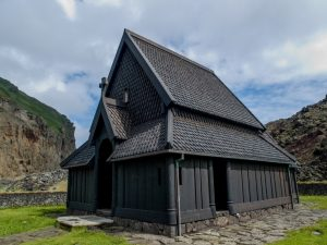 Heimaey stave church Westmann Islands Iceland tour