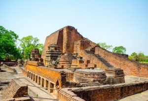 Nalanda Buddhist University India tour archaeology Buddhism