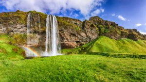 Far Horizons Iceland tour Seljalandsfoss waterfall