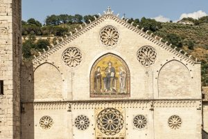 Spoleto Cathedral Facade - Far Horizons Tour