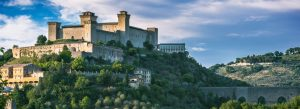 Spoleto Castle - Far Horizons Tour
