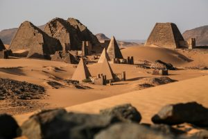 Sudan tour Timothey Kendall archaeologist archaeological tour Meroe