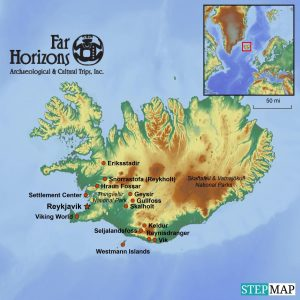 Iceland tour Vikings archaeology Old Norse
