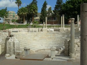 Alexandria Roman Theater Far Horizons Archaeology Egypt tour