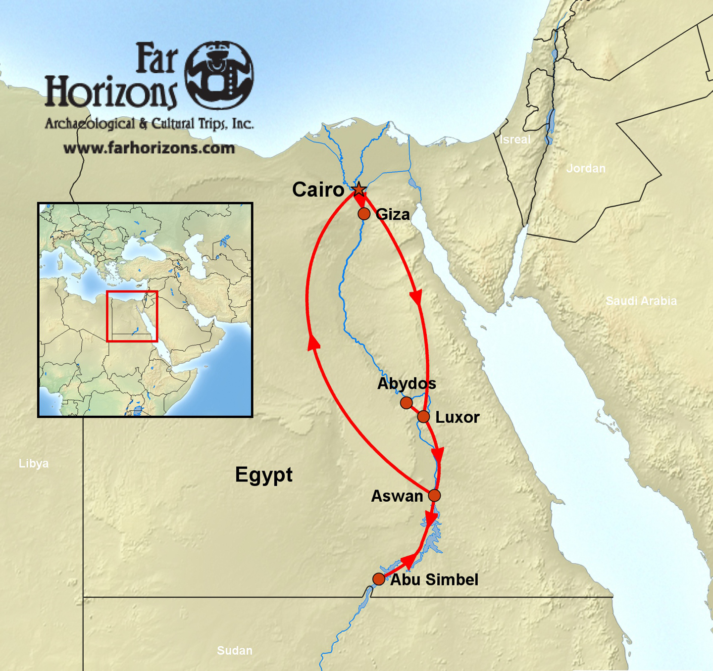 The Majesty of Egypt Tour