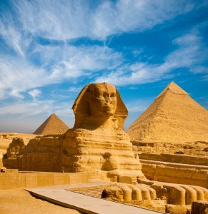 Sphinx Great Pyramid Far Horizons Egypt tour