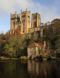 Durham Cathedral vertical Far Horizons England archaeology tour