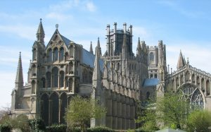 Ely Cathedral outside Far Horizons England Archaeology tour