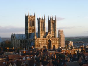 Lincoln Cathedral Far Horizons England archaeology tous