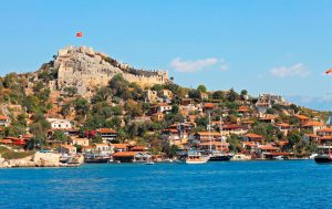 Simena castle Turkey yacht tour