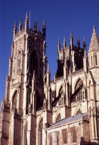 York Minster outside view Far Horizons England archaeology tour