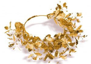 Thracian gold wreath Kazanlak Bulgaria archaeology tour