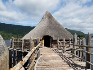 Crannog Center Scotland tour archaeology trip