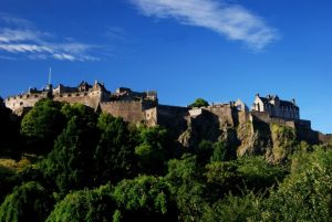 Scotland tour archaeology tour Edinburgh Castle