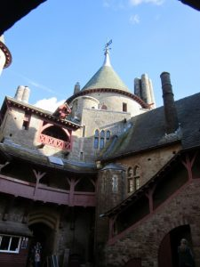 archaeology tour Wales tour Castell Coch