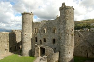 Wales tour archaeology tour Harlech Castle