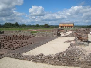 Wales tour archaeology tour Wroxeter