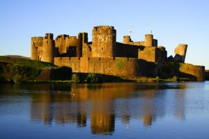 archaeology tour Wales tour Caerphilly Castle